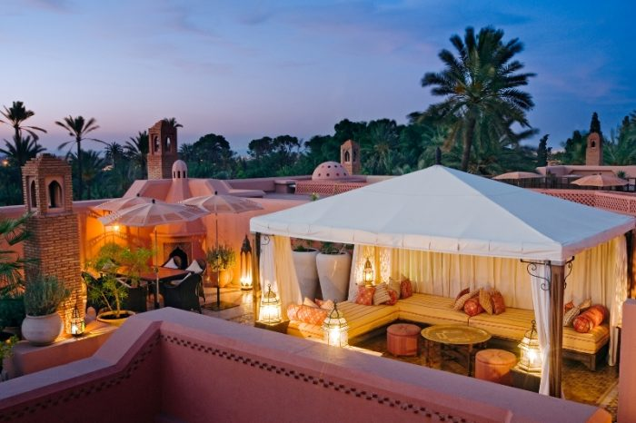 Royal Mansour riad rooftop