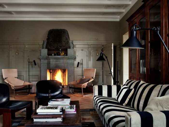 Lounge Area 1 – Fireplace – low