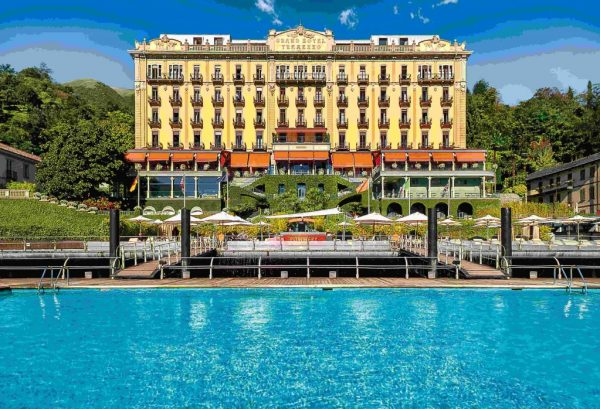 Re-positioning - Grand Hotel Tremezzo, Lake Como