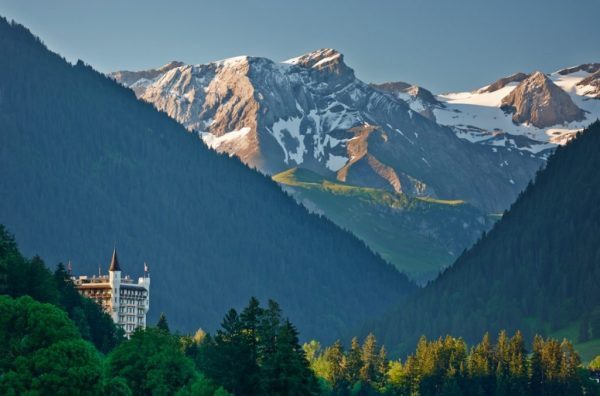 Rent a Palace in Gstaad