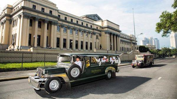 Jeepneys at The Peninsula Manila