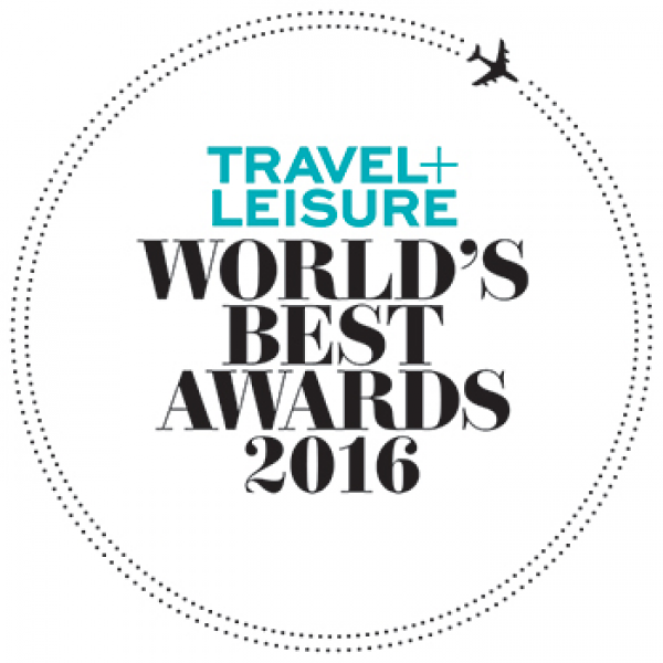Travel + Leisure: Worlds Best Awards 2016
