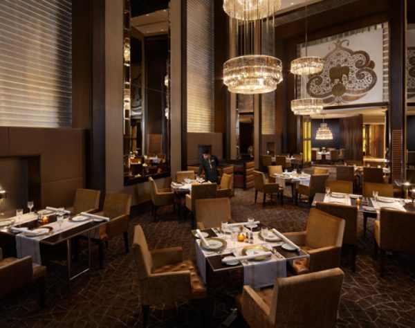 Signature fine dining at the Leela Palace New Delhi