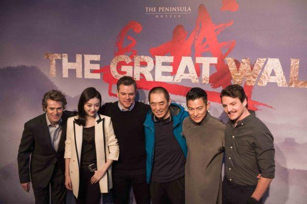 Matt Damon attends global press junket at The Peninsula Beijing