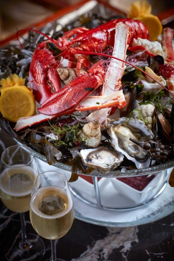 New Seafood Brunch, and freeflow Champagne