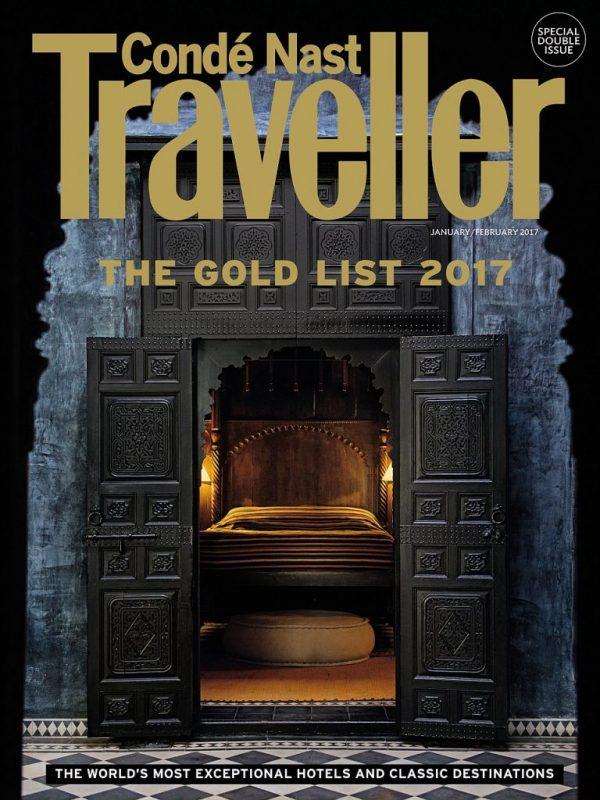 Maçakizi featured in the Condé Nast Traveller Gold List 2017