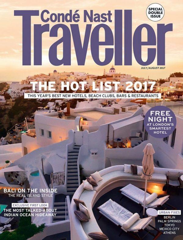 Peninsula Beijing in Conde Nast Traveller Hot List 2017