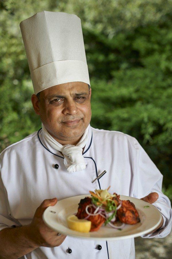 Image 1 - Gstaad Palace welcomes Chef Ravi Bajaj for the season