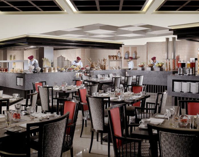 The Leela Goa Restaurant Indoor