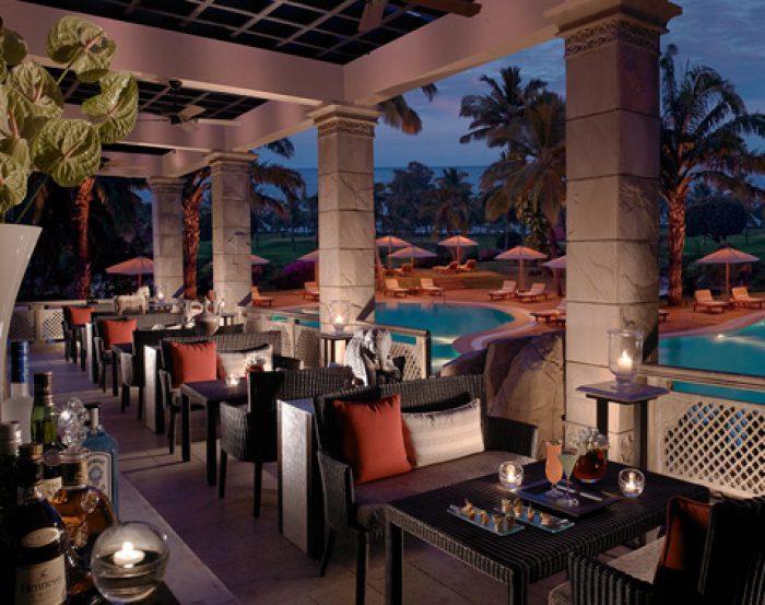 The Leela Goa Restaurant Outdoor