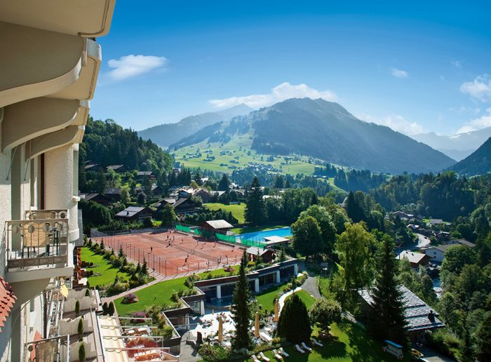 Gstaad Palace Tennis Courts