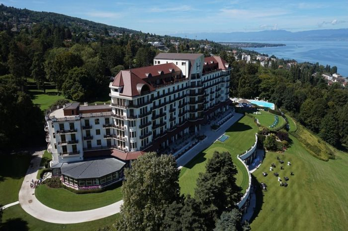 Evian Hotel Royal Exterior Use