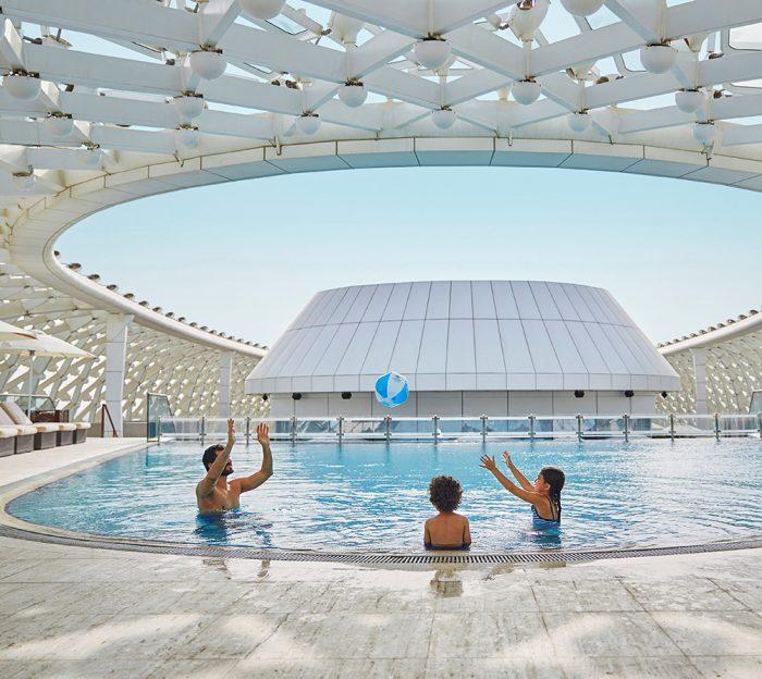 Yas Viceroy Pool