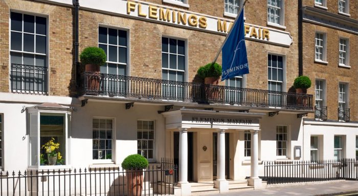 Flemings Mayfair hotel exterior