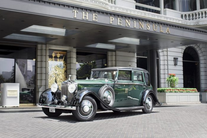 The Peninsula Hotels Rolls Royce