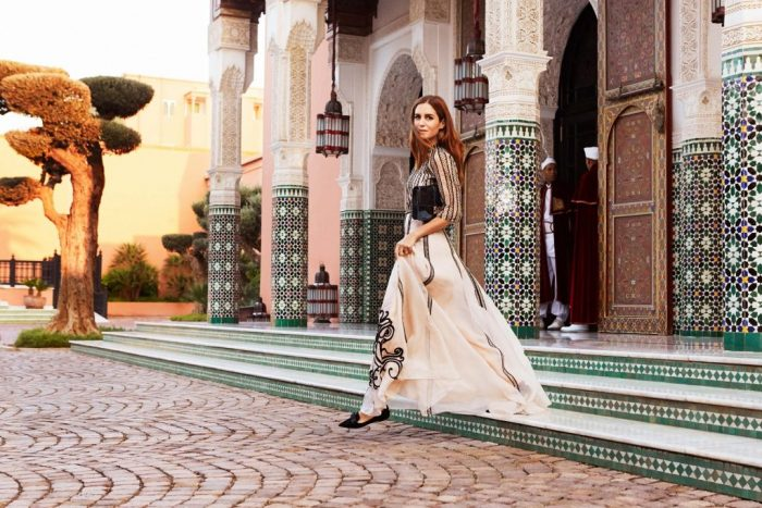 Jimmy Choo photoshoot at La Mamounia