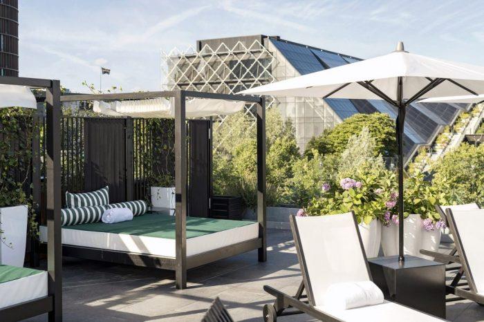 Nimb Rooftop Pool Copenhagen