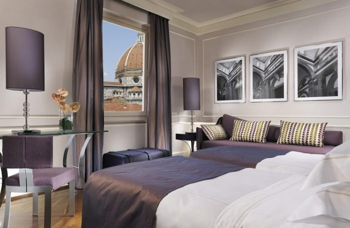 Hotel Brunelleschi – Deluxe Room Direct View of Duomo and Campanile