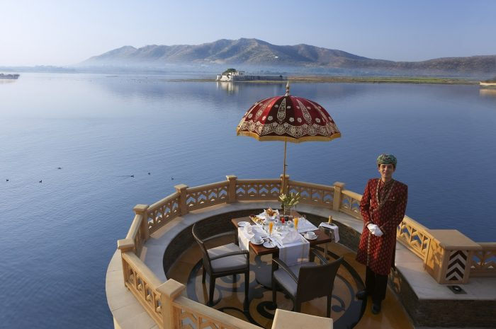 The Leela Palace Udaipur - Champagne Breakfast