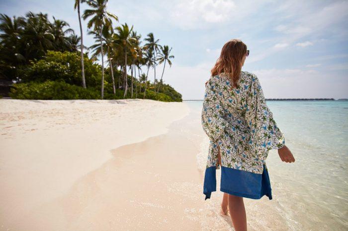 JOALI Maldives in-villa beach kaftan by Ardmore