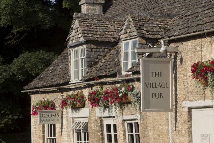 Michele Mella, The Village Pub, Calcot Collection