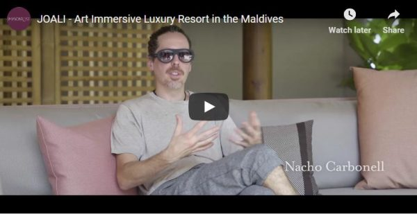 Must-see video of art immersive luxury resort JOALI Maldives