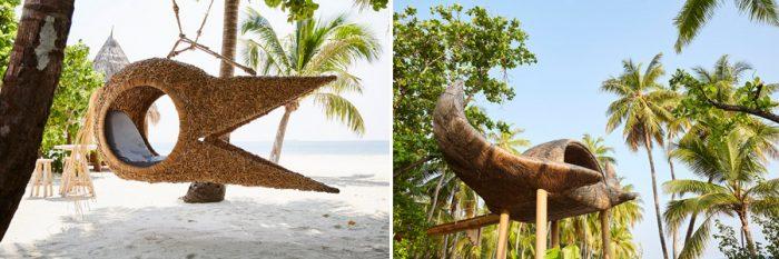 JOALI Maldives art by Porky Hefer