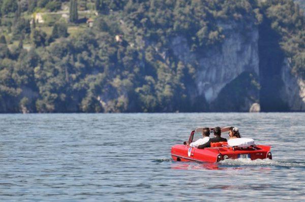 Explore Lake Como with new amphibious classic car