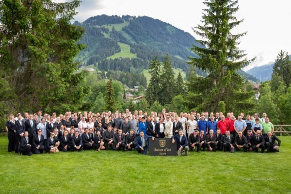Gstaad Palace named Switzerland's Best Holiday Hotel 2019