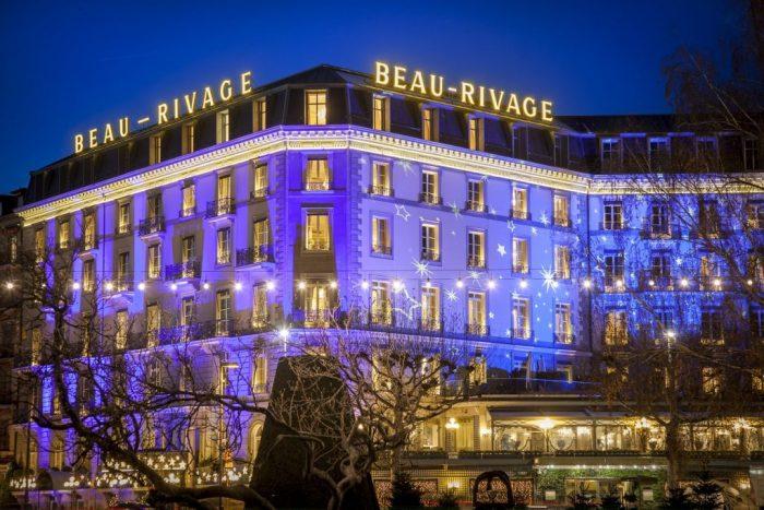 Beau-Rivage Geneva – Christmas 2019