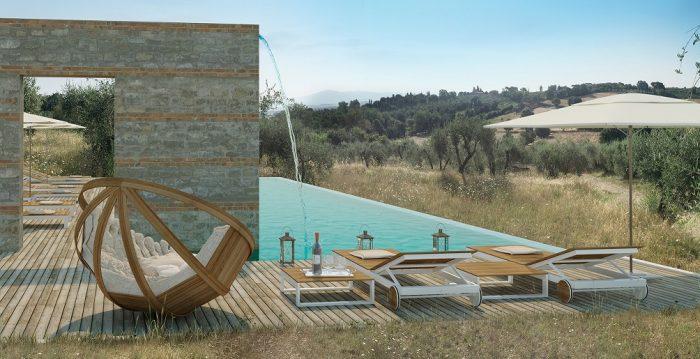 Borgo 69 infinity pool