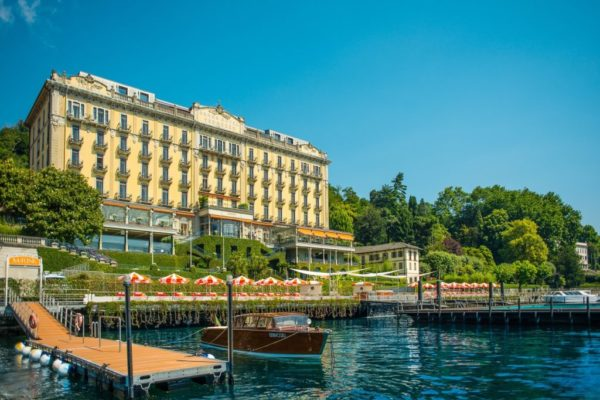 Grand Hotel Tremezzo reopens with new lakeside fish restaurant