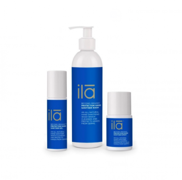 ilā spa launches natural hand sanitiser protection collection