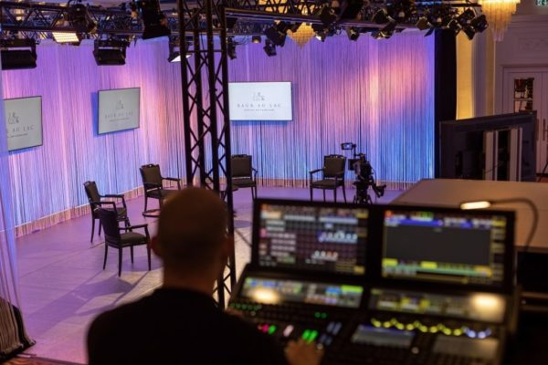 Baur au Lac launches new streaming studio for events