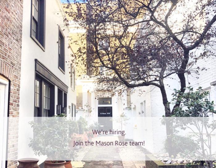 Mason Rose – we are hiring