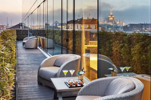 New client: Armani Hotel Milano