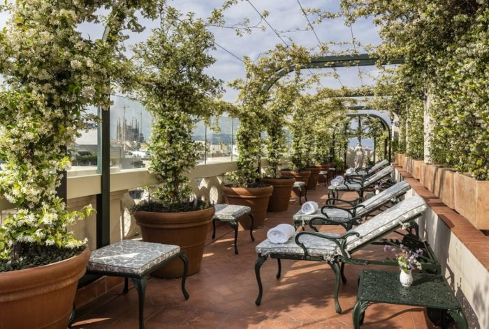 El Palace Barcelona – Roof Garden