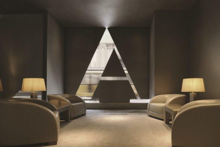 Armani Hotel Milano – welcome area
