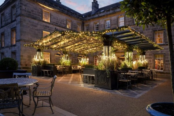 Grantley Hall expands outdoor dining and spa offering