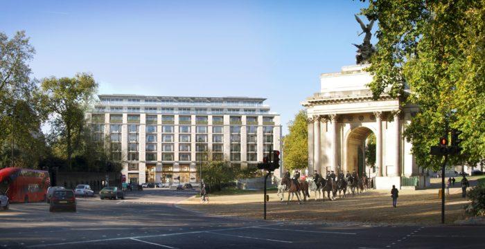 The Peninsula London Arch View